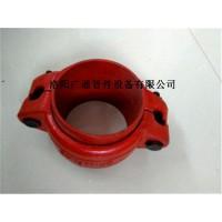 山西云南卡箍式柔性管接头4寸2寸价